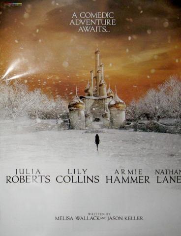 плакат фильма сейлс-арт Белоснежка: Месть гномов