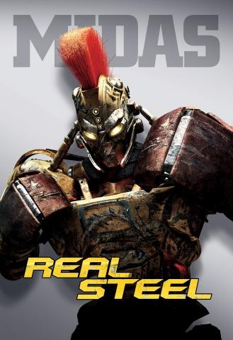 плакат фильма характер-постер Живая сталь