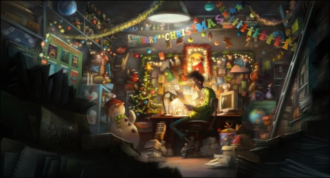 концепт-арты Секретная служба Санта Клауса