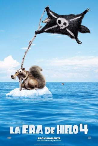 плакат фильма тизер Ледниковый период 4: Континентальный дрейф