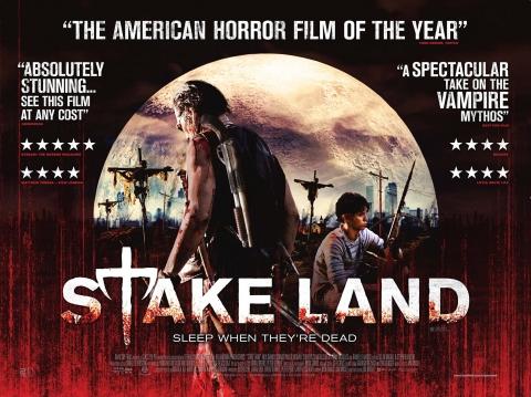 плакат фильма биллборды Земля вампиров
