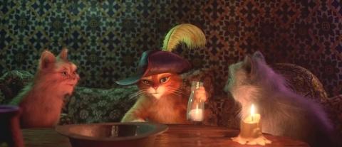кадры из фильма Кот в сапогах Антонио Бандерас,