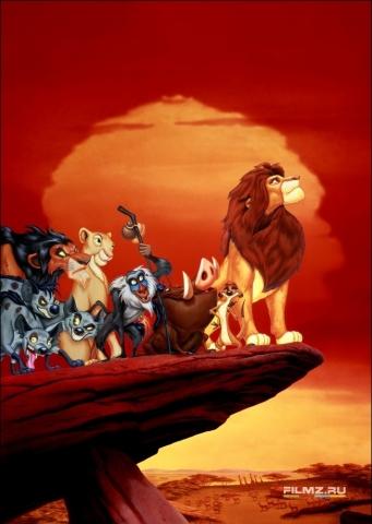промо-слайды Король лев