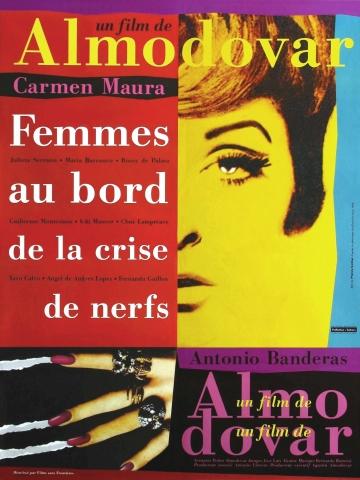 плакат фильма Женщины на грани нервного срыва