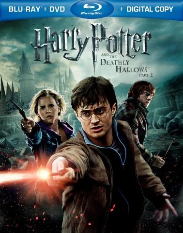 плакат фильма Blu-Ray Гарри Поттер и Дары Смерти: Часть вторая