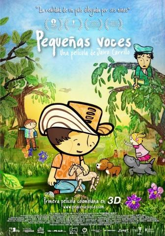 плакат фильма постер Детские голоса