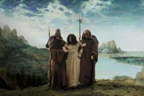 кадр №91006 из фильма Мельница и крест