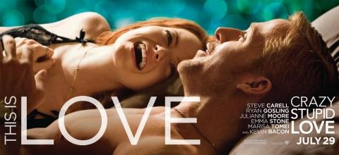 плакат фильма характер-постер баннер Эта — Дурацкая — Любовь