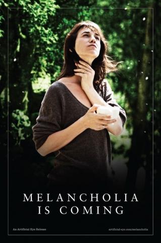 плакат фильма характер-постер Меланхолия