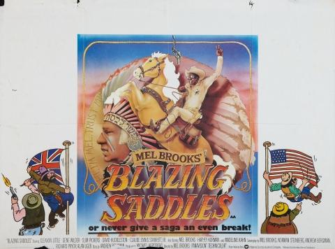 плакат фильма постер Сверкающие седла
