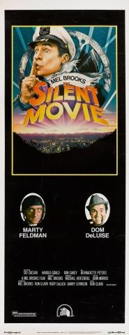плакат фильма баннер Немое кино