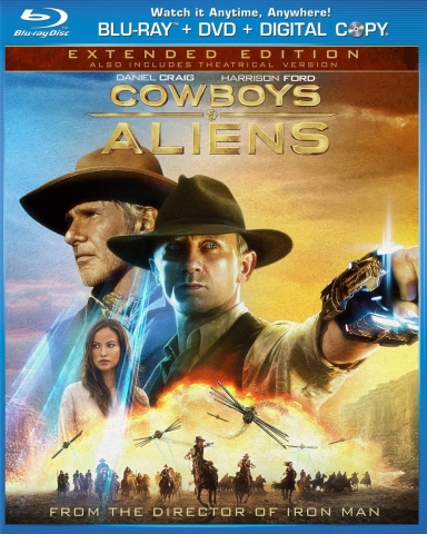 плакат фильма Blu-Ray Ковбои против пришельцев
