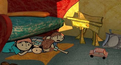 кадр №91851 из фильма Детские голоса