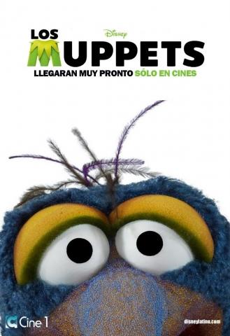 плакат фильма характер-постер Маппеты