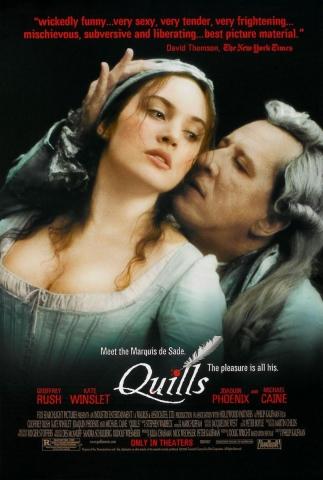 плакат фильма Перо маркиза де Сада