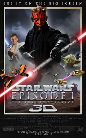 плакат фильма постер Звездные войны: Эпизод I — Скрытая угроза