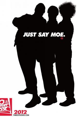 плакат фильма тизер Три балбеса