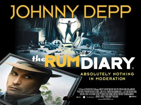 плакат фильма биллборды Ромовый дневник