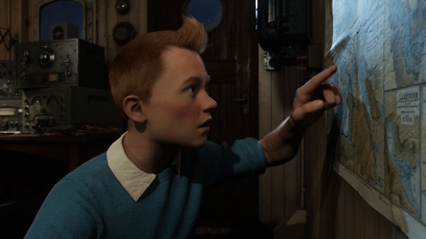 кадр №95020 из фильма Приключения Тинтина: Тайна единорога