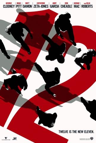 плакат фильма тизер Двенадцать друзей Оушена
