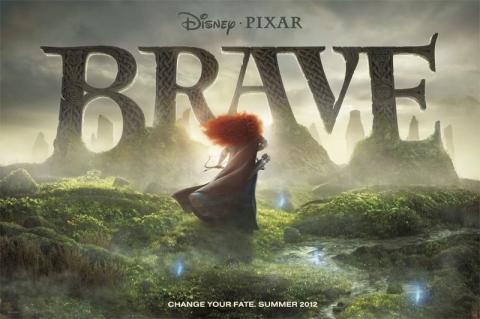 плакат фильма биллборды Храбрая сердцем