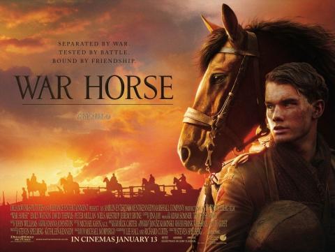 плакат фильма биллборды Боевой конь