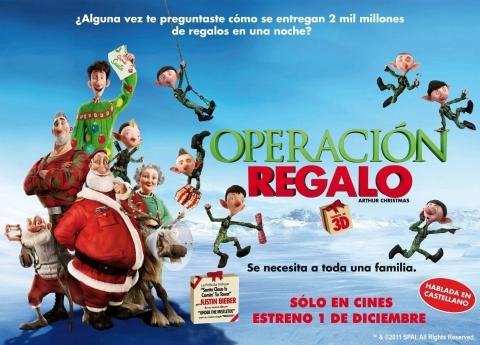 плакат фильма биллборды Секретная служба Санта Клауса