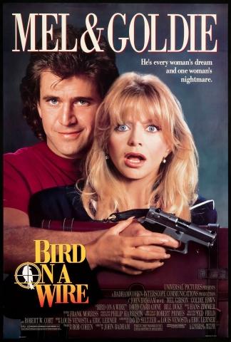 плакат фильма постер Птичка на проводе