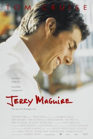 плакат фильма Джерри Магуайер