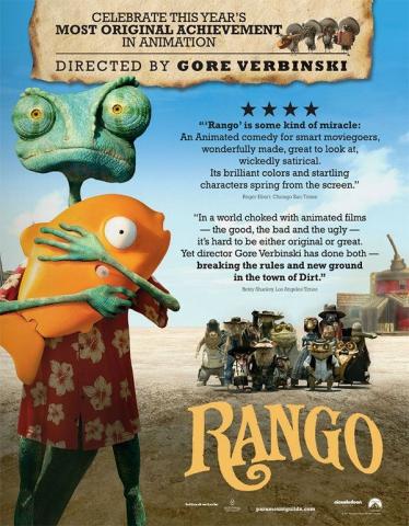 плакат фильма «Оскаровская» кампания Ранго