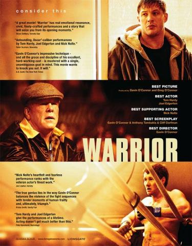 плакат фильма «Оскаровская» кампания Воин