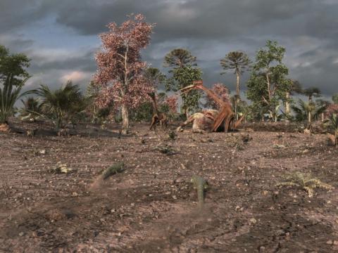 кадр №98353 из фильма Крылатые монстры 3D