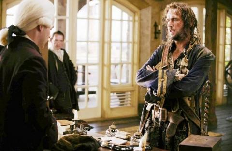 кадры из фильма Пираты Карибского моря: На краю света Джек Дэвенпорт, Дэвид Скофилд, Том Холландер,