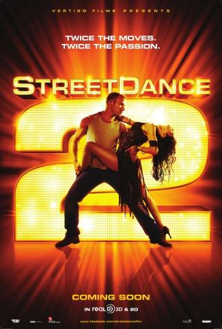 плакат фильма постер Уличные танцы 2