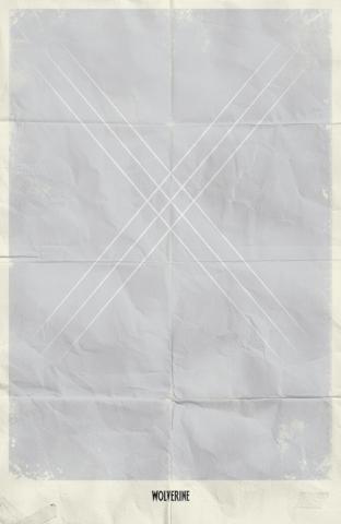 плакат фильма арт-постеры Минималистичные постеры Marvel