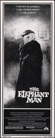 плакат фильма Человек-слон