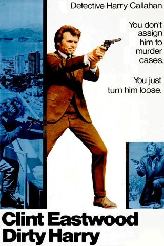плакат фильма постер Грязный Гарри