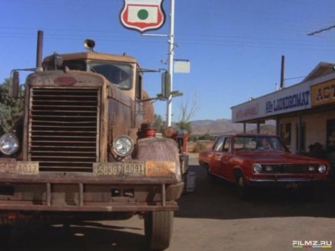кадры из фильма Дуэль