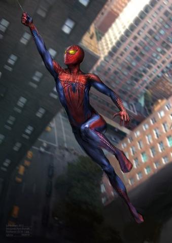 картинки артов человека паука