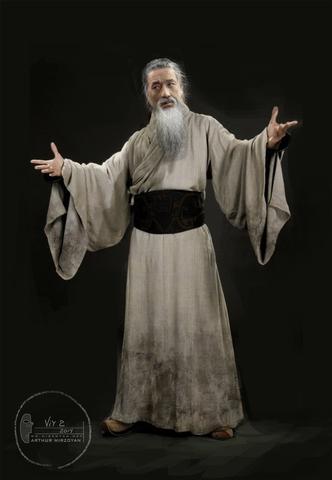 концепт-арты Тайна печати дракона Джеки Чан,