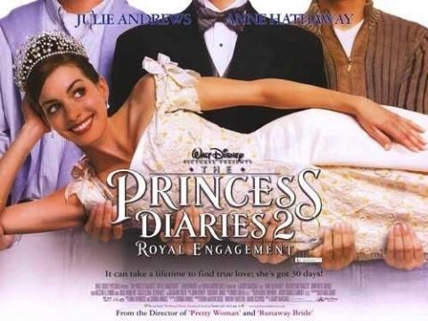 Как стать принцессой 2 / The Princess Diaries 2: Royal Engagement [2004 г., триллер, комедия, мелодрама, семейный, DVDRip]