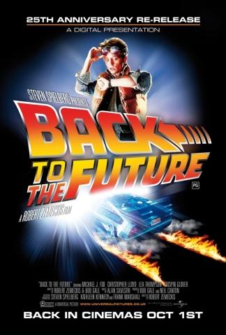 плакат фильма постер Назад в будущее