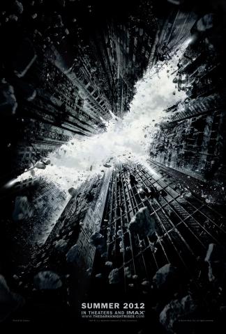 плакат фильма тизер Воскрешение Темного рыцаря