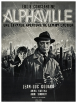 фильм Альфавиль Alphaville, une étrange aventure de Lemmy Caution 1965