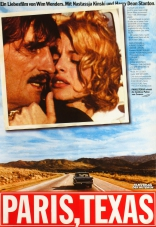 фильм Париж, Техас Paris, Texas 1984