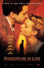 фильм Влюбленный Шекспир Shakespeare in Love 1998
