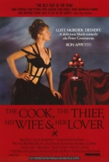 ����� �����, ���, ��� ���� � � �������� Cook, the Thief, His Wife & Her Lover, The 1989