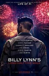 фильм Долгий путь Билли Линна в перерыве футбольного матча Billy Lynn's Long Halftime Walk 2016