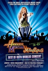 фильм Ханна Монтана/Майли Сайрус: концерт* Hannah Montana/Miley Cyrus: Best of Both Worlds Concert Tour 2008