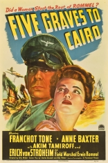 ����� ���� ������� �� ���� � ���� Five Graves to Cairo 1943